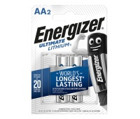 Bateria ENERGIZER Ultimate Lithium, AA, L91, 1,5V, 2szt.