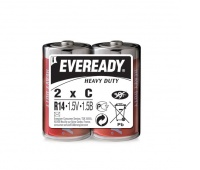 Bateria EVEREADY Heavy Duty, C, R14, 1,5V, 2szt.