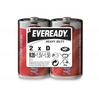 Bateria EVEREADY Heavy Duty, D, R20, 1,5V, 2szt.