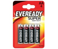 Bateria EVEREADY Super Heavy Duty, AA, R6, 1,5V, 4szt.