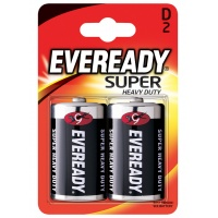 Bateria EVEREADY Super Heavy Duty, D, R20, 1,5V, 2szt.
