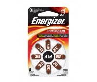 Bateria słuchowa ENERGIZER, 312, 8szt., Baterie, Urządzenia i maszyny biurowe