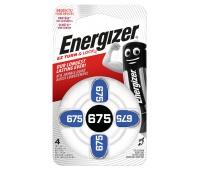 Bateria słuchowa ENERGIZER, 675, 4szt., Baterie, Urządzenia i maszyny biurowe