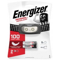 Frontal torch (flashlight) ENERGIZER, 3 Led Headlight + 3 pieces of AAA batteries, black