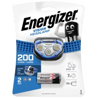 Frontal torch (flashlight) ENERGIZER, 6 Led Headlight + 3 pieces of AAA batteries, black