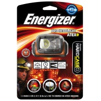 Frontal torch (flashlight) ENERGIZER, Headlight Atex + 2 pieces of AAA batteries, black