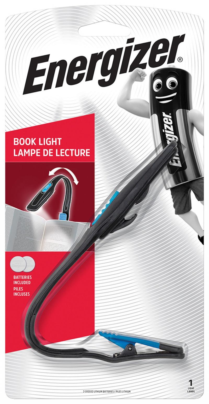 Latarka ENERGIZER Booklite Led + 2szt. baterii CR2023, czarna, Latarki, Urządzenia i maszyny biurowe