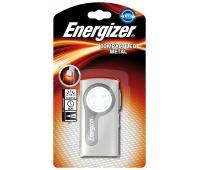 Latarka ENERGIZER Compact Led Metal, bez baterii, srebrna, Latarki, Urządzenia i maszyny biurowe