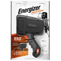 Torch, ENERGIZER Hard Case Led, rechargeable, black