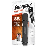 Torch ENERGIZER Hard Case Professional Led + two AA batteries, black