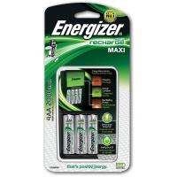 Ładowarka ENERGIZER Maxi + 4 szt. akumulatorków Extreme AA, Akumulatorki i ładowarki, Urządzenia i maszyny biurowe