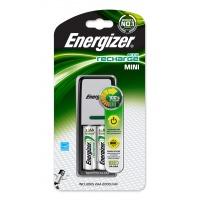 Ładowarka ENERGIZER Mini + 2 szt. akumulatorków Power Plus AA, Akumulatorki i ładowarki, Urządzenia i maszyny biurowe