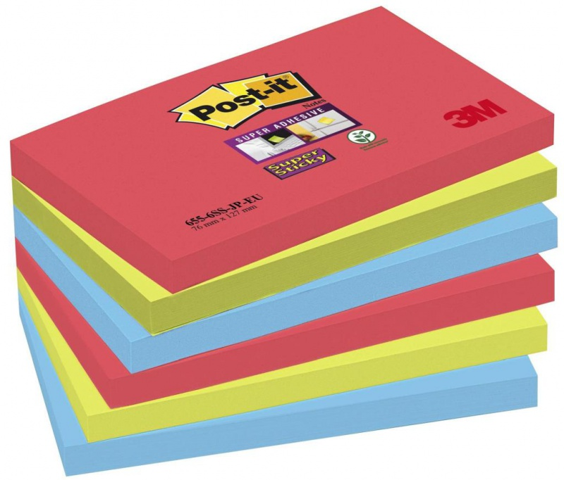 karteczki, bloczek, notes, karteczki samoprzylepne, post it, bloczek samoprzylepny, post-it, samoprzylepne, samoprzylepny, kartki samoprzylepne, karteczki samoprzylepny, bloczki, karteczki post-it, postit, BLOCZEK, 655-6SS-JP, super sticky, kolorowe
