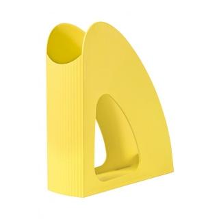 Pojemnik na czasopisma HAN Loop I-Colour, żółty, Pojemniki na dokumenty i czasopisma, Archiwizacja dokumentów
