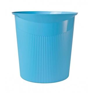Kosz na śmieci HAN Loop I-Colour, 13l, niebieski, Kosze plastik, Wyposażenie biura