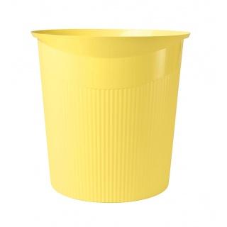Kosz na śmieci HAN Loop I-Colour, 13l, żółty, Kosze plastik, Wyposażenie biura