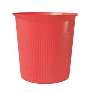 Kosz na śmieci HAN Loop I-Colour, 13l, czerwony, Kosze plastik, Wyposażenie biura