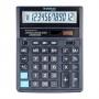 Office calculator DONAU TECH, 12 digits. display, dim. 203x158x31 mm, black