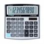 Office calculator DONAU TECH, 10 digits. display, dim. 136x134x28 mm, silver