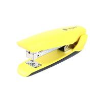 Zszywacz KANGARO Nowa-45, zszywa do 25 kartek, plastikowy, w pudełku PP, żółty, Zszywacze, Drobne akcesoria biurowe