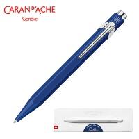 Pióro kulkowe CARAN D'ACHE 849, w pudełku, niebieskie, Pióra, Artykuły do pisania i korygowania