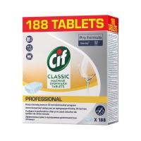 Tabletki do zmywarki CIF Diversey, 188 sztuk, classic, Środki czyszczące, Artykuły higieniczne i dozowniki
