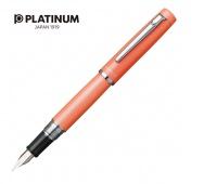 Pióro wieczne PLATINUM Proycon Persimmon Orange, F, pomarańczowe, Pióra, Artykuły do pisania i korygowania