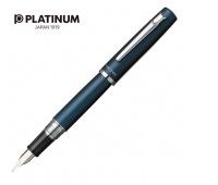 Pióro wieczne PLATINUM Proycon Deep Sea, F, niebieskie, Pióra, Artykuły do pisania i korygowania
