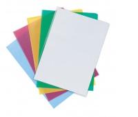 Obwoluta Q-CONNECT typu L, PP, A4, groszkowa, 120mikr., 10szt., mix kolorów, Koszulki i obwoluty, Archiwizacja dokumentów