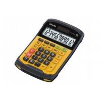 Kalkulator wodoodporny CASIO WM-320MT-S, 12-cyfrowy, 108,5x168,5mm, żółty, box, Kalkulatory, Urządzenia i maszyny biurowe
