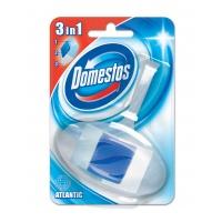Kostka toaletowa DOMESTOS Atlantic, w koszyku, 40g, Środki czyszczące, Artykuły higieniczne i dozowniki