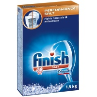 Dishwasher salt, FINISH, 1.5 kg