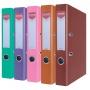 Segregator OFFICE PRODUCTS Officer, PP, A4/55mm, mix kolorów nietypowych, Segregatory polipropylenowe, Archiwizacja dokumentów