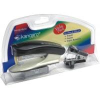 Zestaw KANGARO Trendy-45M/Z3, 3w1, blister, mix kolorów, Zszywacze, Drobne akcesoria biurowe