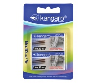 Staples KANGARO, No. 10-1M, 2x1000 pcs, blister