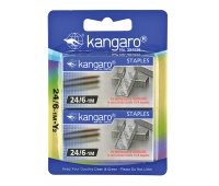Staples KANGARO, No. 24/6, 2x1000 pcs, blister