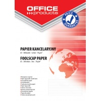 Foolscap paper, A3, ruled, OFFICE PRODUCTS, 500 sheets