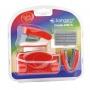 Zestaw KANGARO Trendy-45M/Z4, 4w1, blister, czerwony