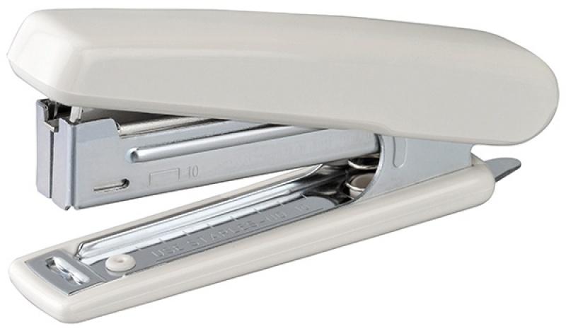 Zszywacz KANGARO HS-J10, zszywa do 20 kartek, blister, beżowy, Zszywacze, Drobne akcesoria biurowe