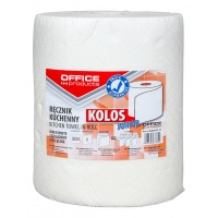 Kitchen towels, cellulose, OFFICE PRODUCTS Kolos Junior, 2-ply, 300 blades, 60 m, white