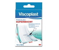 VISCOPLAST Plus plaster, 6cm x 1m, white