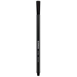 Cienkopis DONAU D-Fine, 0,4 mm, czarny