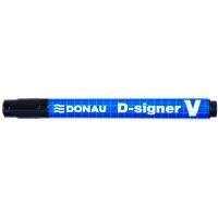 Czarny marker permanentny DONAU D-Signer V (7370001-01PL), Promocje, ~ Nagrody