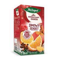 Herbata HERBAPOL Herbaciany Ogród, 20 torebek, zimowy sekret, Herbaty, Artykuły spożywcze