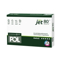 Papier ksero POLJET Premium, A3, klasa A, 166CIE, 500ark., 80g, Papier do kopiarek, Papier i etykiety