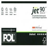Papier ksero POLJET Premium, A4, klasa A, 166CIE, 250ark., 90g, Papier do kopiarek, Papier i etykiety