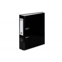Segregator VAUPE Premium, PP, A4/75MM, Czarny, Segregatory polipropylenowe, Archiwizacja dokumentów