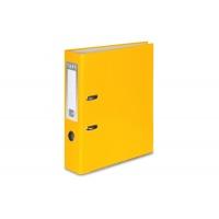 Segregator VAUPE Premium, PP, A4/75MM, Żółty, Segregatory polipropylenowe, Archiwizacja dokumentów