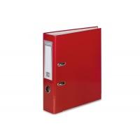 Segregator VAUPE Premium, PP, A4/75MM, Czerwony, Segregatory polipropylenowe, Archiwizacja dokumentów
