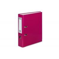 Segregator VAUPE Premium, PP, A4/75MM, Różowy, Segregatory polipropylenowe, Archiwizacja dokumentów